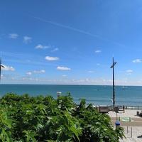 【フランスの夏の海】ヴァンデ地方・サーブル=ドロンヌの海
