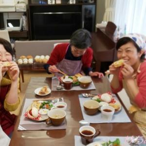 【レッスンご案内】2・3月レッスンは春休みのお昼や持ち寄りにも嬉しいパンをご紹介します。