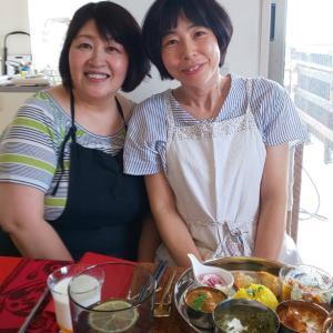 【私の夏休みもらいました!】神戸舞子の大好きな先生にスパイスカレーを習いに行ってきました!