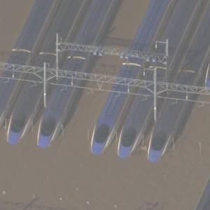【ニュース】台風19号 北陸新幹線の車両浸水 全体の3分の1 専門家「最悪 廃車か」1編成12両の製造で32億円超也