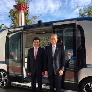 【ニュース】鳩山元首相 「ここは中国、5Gが張り巡らされ車は全自動。日本は完全に乗り遅れた」