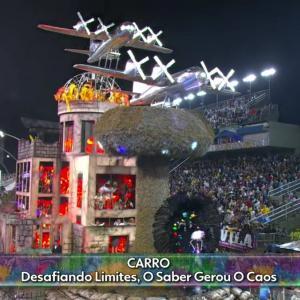 【ニュース】ブラジル カーニバルで広島原爆キノコ雲の山車登場