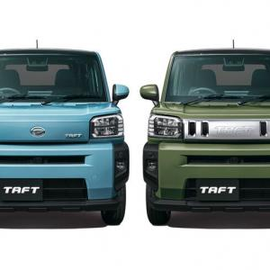 【ニュース】ダイハツ 「タフト」の先行予約受け付けを開始 クロスオーバータイプの新型軽乗用車