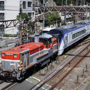 E353系S206編成 J-TREC出場 甲種輸送