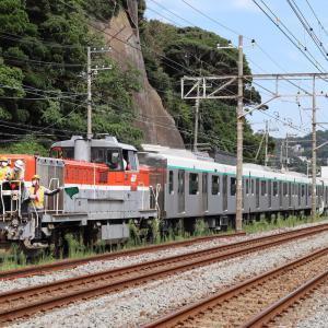 東急電鉄2020系 J-TREC出場 甲種輸送