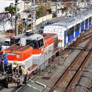 静岡鉄道 A3000形 甲種輸送を撮る!