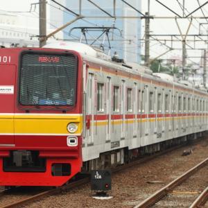 ジャカルタのメトロ6000系、7000系