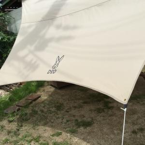 コスパ、機能性最高!【DODヘーキサタープ】TC素材は雨とBBQにめっぽう強かった!