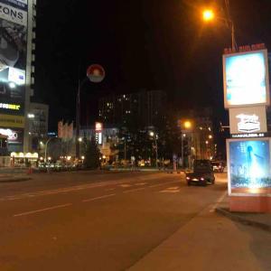 夜の街を徘徊