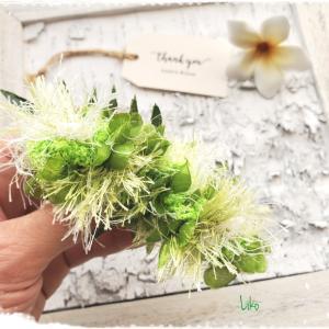 ボタニカルが可愛い!葉っぱのバレッタLiko