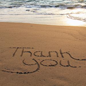 感謝の気持ちを現す