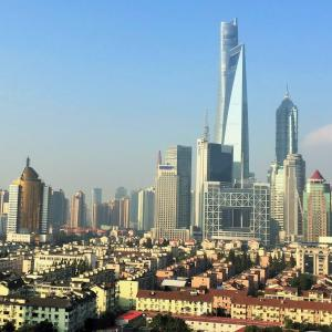 大都会はいつも変わっていく(上海)