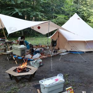 【キャンプ場】皇海山キャンプフォレスト レポート