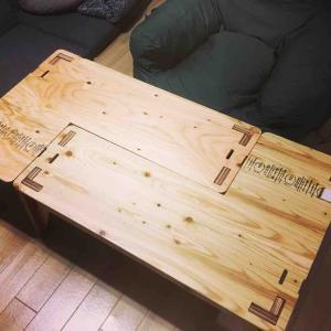 パズルみたいな便利なテーブル。「YOKA(ヨカ) L-TABLE」使ってみた感想