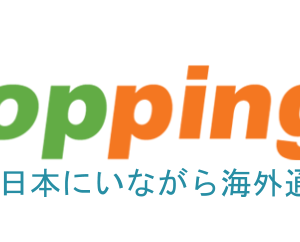 「Goopping(グッピング)」を使って個人輸入をしてみたけど、意外と簡単だった。