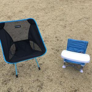 【キャンプ】子供用の椅子を買ってみたのでレビューしてみる。