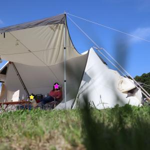 【ギア】家族でキャンプするなら検討してほしいテント。人気のツールームテントにしてみたらすごく快適だった。