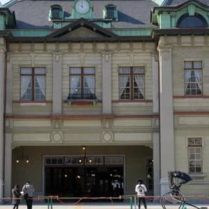 門司港駅改修とレトロ地区の桜