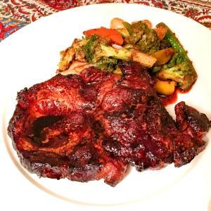 ポークロインと野菜のオーブン焼き