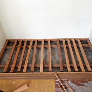 押し入れの床板を作ります