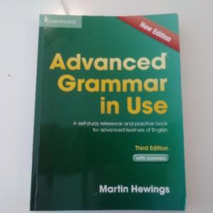 プロ通訳も使っているおすすめ英語文法書Advanced Grammar in Use(Cambridge)