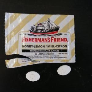 喉の痛みが一撃で消えるフィッシャーマンズフレンド(Fisherman's friend)