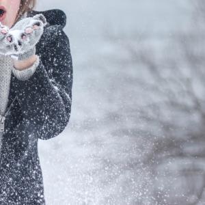 バンクーバー(郊外)で雪が降ると...
