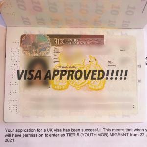 ついに、ビザ申請がおりました!
