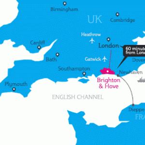 Brighton生活について