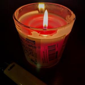 コロナ禍な真夜中は用途が曖昧な照明の出番だな