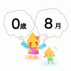 【8月】個人案の文例【0歳児】