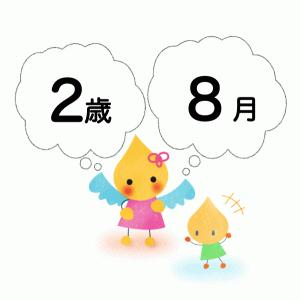 【8月】個人案の文例【2歳児】