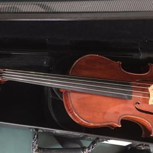 娘の一泊帰省とヴァイオリン