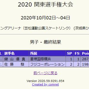 鍵山優真選手は凄かった!2020.10.4