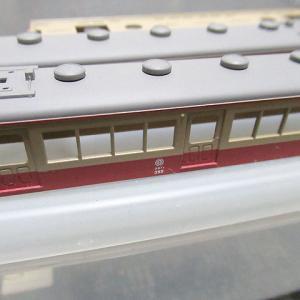 鉄コレの西武351系から作った355編成タイプを何とかしはじめる