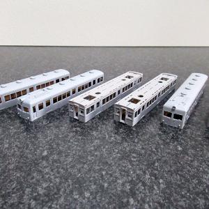 サフ塗装、そしてサハ1336と言えば・・・ ~西武鉄道353編成、355編成を作る
