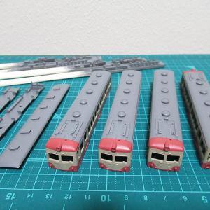 グレー塗装と筆塗りと・・・ ~西武鉄道353編成、355編成を作る