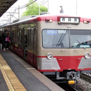 三岐鉄道の赤電塗装になった元西武701系