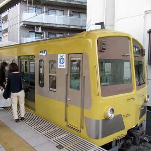 西武鉄道 新101系黄色塗装の並び(多摩湖線)