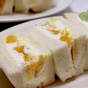 マスカルポーネクリームで作るフルーツサンド*今日のレシピ