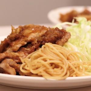 生姜たっぷり!パスタ添え つゆだく『豚の生姜焼き』*今日のレシピ
