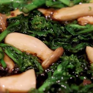 和風仕立ての『牡蠣と菜の花のペペロンチーノ』*今日のレシピ