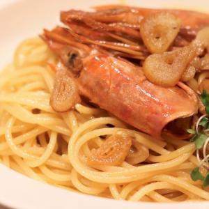 うっま…『海老とにんにくのパスタ』 #レシピ #おうちごはん