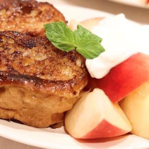 いっしょに作ろ♪『桃とミルクティーのフレンチトースト』 #レシピ