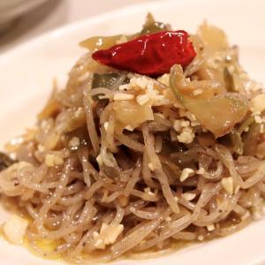 おうち居酒屋オープン♪『搾菜のペペロンチーノ』のレシピ*