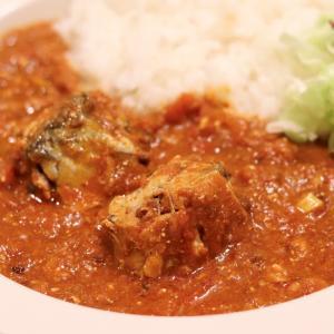 鯖缶の水煮で作る!旨味と栄養◎『鯖と山椒のトマトカレー』のレシピ*