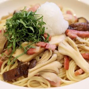 牡蠣だし醤油で『秋の!きのこたっぷり和風おろしパスタ』のレシピ*
