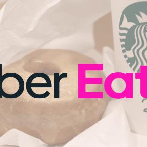 ◎Uber Eats 在宅のお供におうち『スタバ』を注文
