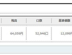 【投信積立】ソニー銀行で8~9月に積み立て購入した「楽天VTI6万円分」を確かめてみた。