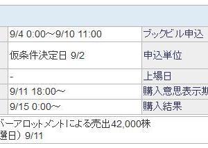 【9月IPO】グラフィコ(4930)抽選結果は・・・!